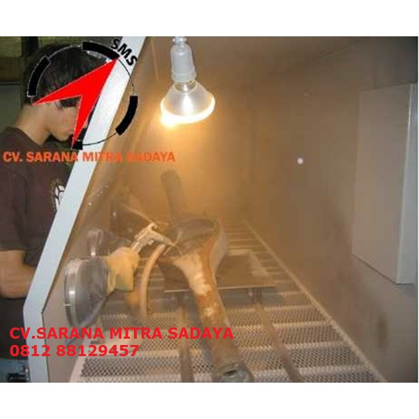 jual mesin sandblasting cabinet