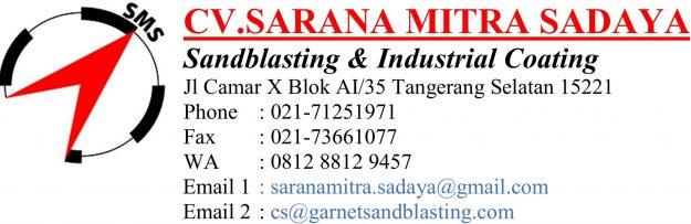 Distributor Garnet Sandblasting Indonesia